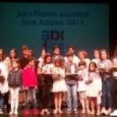 Alumnes de la nostra escola premiats als Jocs Florals del Districte